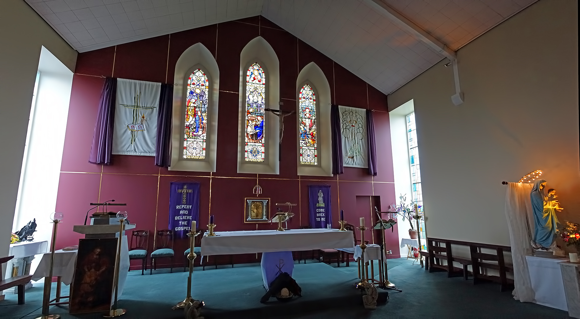Lady Of The Wayside >> St Brigid's Church, Drum – Parish of Ss. Peter & Paul